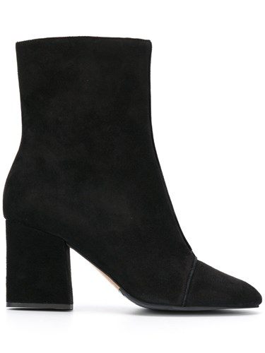 Emporio Armani Ankle Boots Calf Leather Leather Rubber 38.5 Black JvC4ZutF