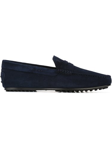 Tod's 'Gommino' Driving Shoes Blue cro8sr