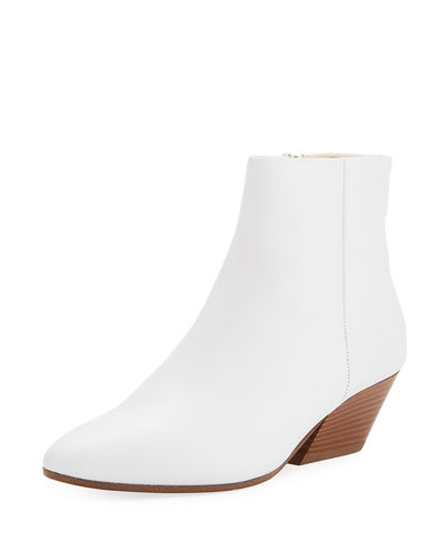 Vince Vaughn Smooth Calf Ankle Boot Optic White bBa50