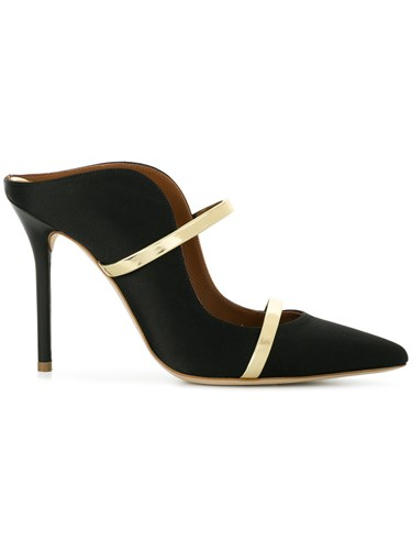 Malone Souliers Double Band Mules Black XbKbmd