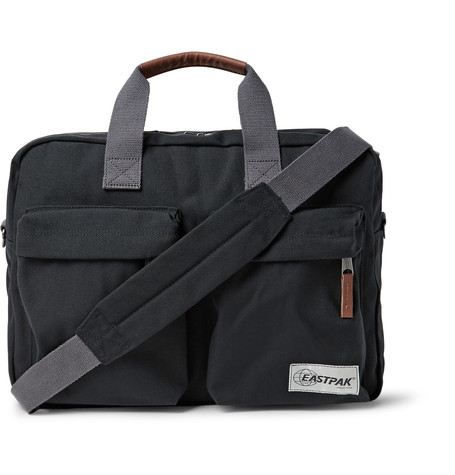 Tomec Opgrade Canvas Messenger Bag Black