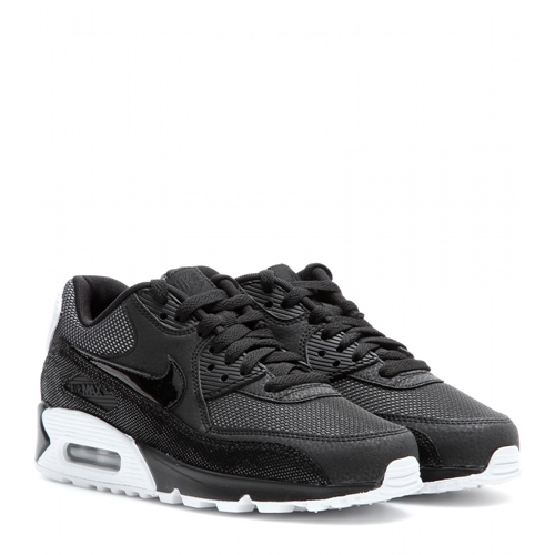 nike air max 90 premium black white