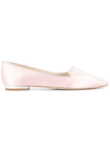 Sophia Webster Satin Butterfly Pumps Pink And Purple a688eML88