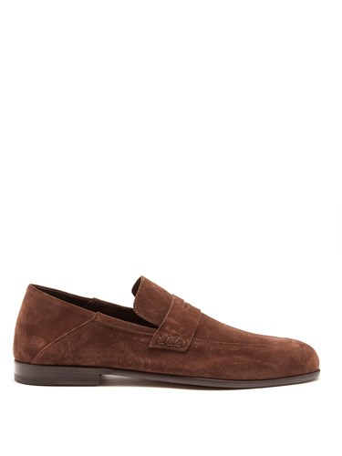 Loafers Suede Harry's of London Brown Edward Penny wS4Xqn4t