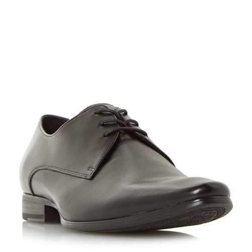 Dune Pete Formal Lace Up Gibson Shoes Black XDQ5P