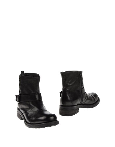 P.A.R.O.S.H. Footwear Ankle Boots Black ZLngiV