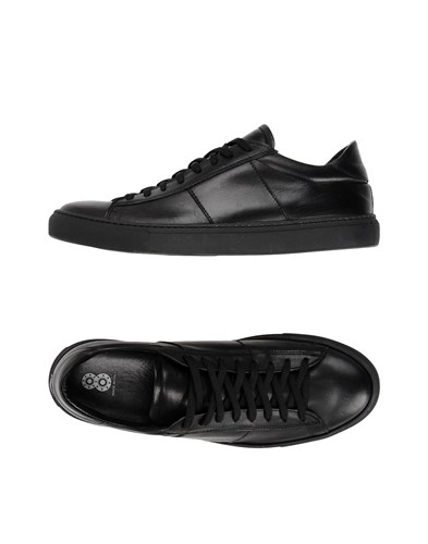 Black And Low Footwear Sneakers Tops 8 5t7Xqw5