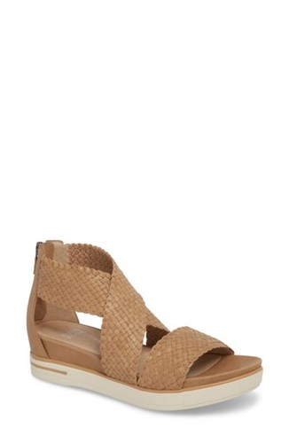 Eileen Fisher Sport Sandal Natural Leather js8QyP1