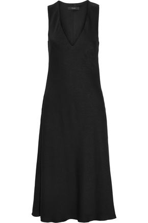 Ellery The Gates Crepe Midi Dress Black e2jQdCQva1