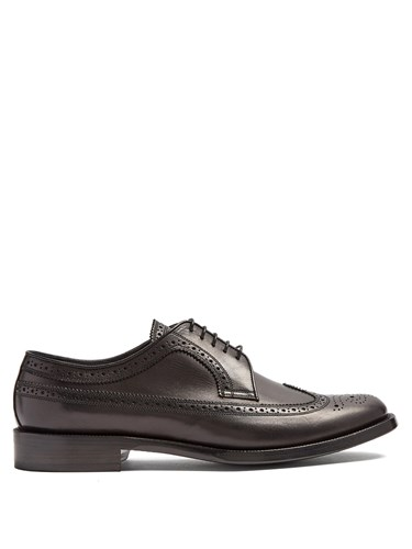 Burberry Aleighton Leather Brogues Black hj7VChS