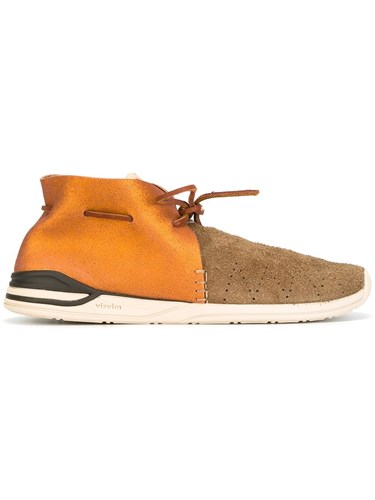 Visvim Lace Up Desert Boots Yellow And Orange pqLpuG