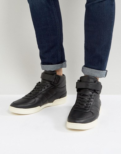 In Trainers Top High Asos Black Black With Split Sole qzt6qnRE