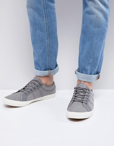 Jack and Jones Canvas Trainers Frost Gray Grey gbkQ0