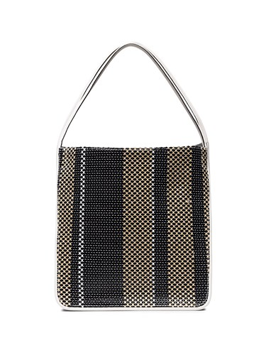 Proenza Schouler Woven Extra Large Tote Black Uarbt8MR