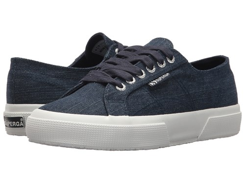 Superga 2750 Shinyw Denim Women's Shoes Blue W6f71Jk1p