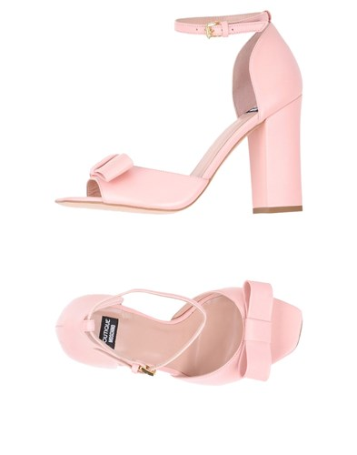 Boutique Moschino Sandals Pink qDPuY
