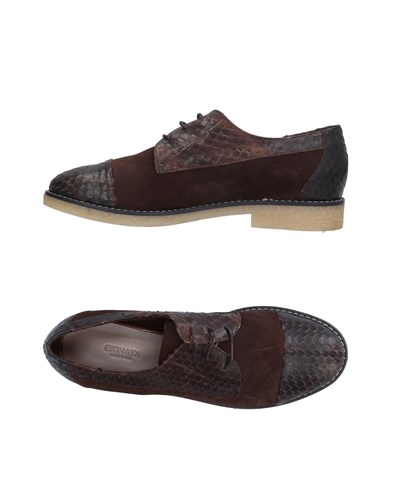 GIONATA Lace Up Shoes Dark Brown i4aX6