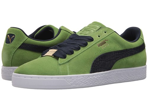 Puma Suede Classic Bboy Fabulous Forest Green Peacoat Men's Shoes jft8NY5ivy