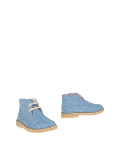 (+) People Ankle Boots Blue Si9rfLBsk
