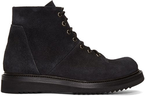 Rick Owens Black Monkey Creeper Boots r5OVbEGq