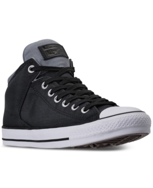 Converse Men's Chuck Taylor All Star High Street Casual Sneakers From Finish Line Black tsS6qrDofu