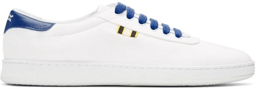 Aprix White And Blue Canvas Apr 003 Sneakers NR6cn