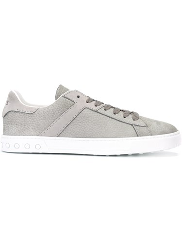 Tod's Lace Up Sneakers Grey TLjUChLY