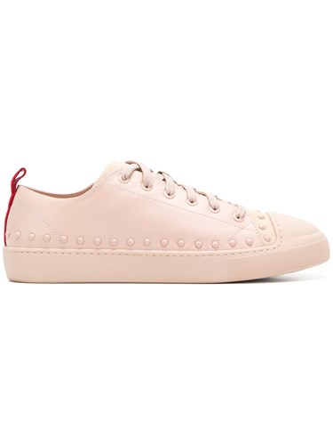 Moncler Linda Sneakers Pink And Purple 757bJ5A