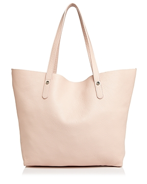 Aqua Leather Tote 100 Exclusive Light Pink Silver dU08BSFoU