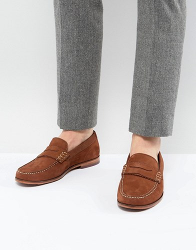 Ted Baker Miicke 5 Nubuck Loafers Tan XCdv1KfTTE