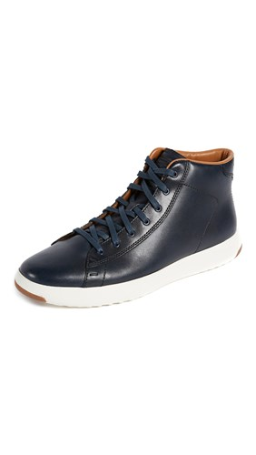 Cole Haan Grand Pro Hi Lux Sneakers Blue b06AFCluFU
