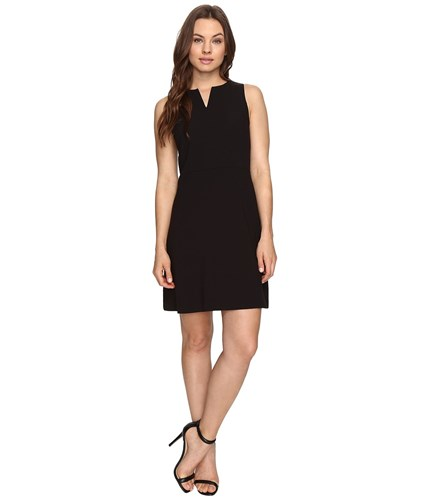 Black Dress Ks3k928s Kensie Dress Crepe Stretch Women's qIIYAS