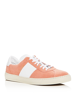 Paul Smith Men's Levon Suede And Leather Lace Up Sneakers Pink iVRifGl1