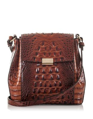 Brahmin Margo Melbourne Leather Crossbody Bag Chino EjlUR1x