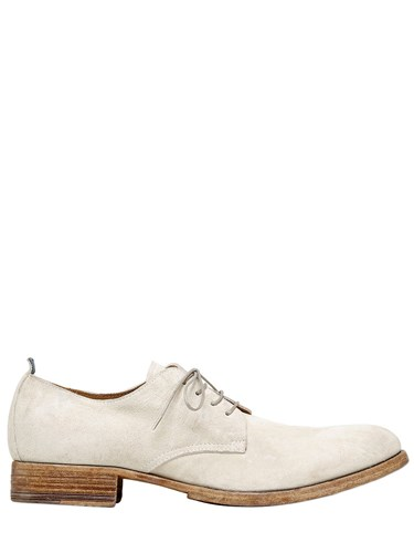 Moma Suede Derby Lace Up Shoes fDPfayzw