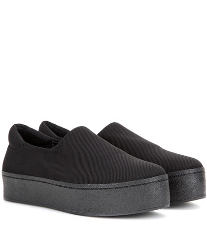 Opening Ceremony Platform Slip On Sneakers Black aNBaEA