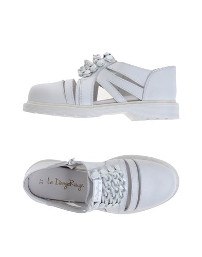 LE DANGEROUGE Loafers White EToPATYH
