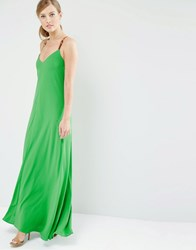 Ted Baker Desile Maxi Dress With Cross Back 35 Mid Green