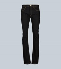 Versace Stretch Slim Fit Jeans Black