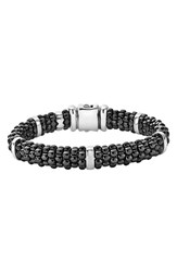 Lagos Women's Black Caviar Station Bracelet