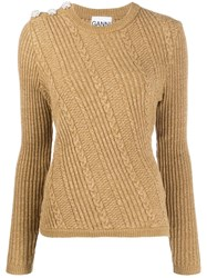 Ganni Cable Knit Jumper 60