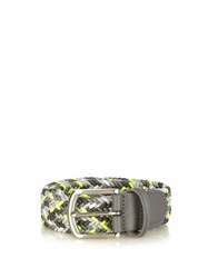 Andersons Woven Elasticated Belt Grey Multi