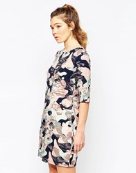 Sugarhill Boutique Amelia Dress In Camo Print Multi