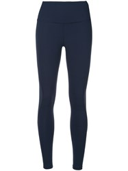 Lndr Performance Leggings Blue