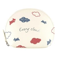 Radley Every Cloud Leather Coin Purse Ivory