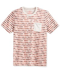 American Rag Men's Digi Stripe Pocket T Shirt Only At Macy's Stone Block