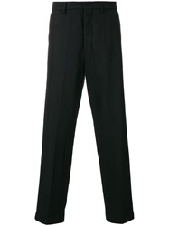 Ami Alexandre Mattiussi Wide Fit Trousers Black