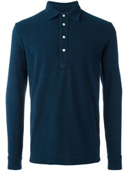 Massimo Piombo Mp Polo Shirt Blue