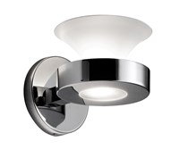 Estiluz Butterfly Wall Sconce A 2730 22 Polished Chrome Silver