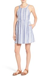 Women's Lush Stripe Fit And Flare Dress